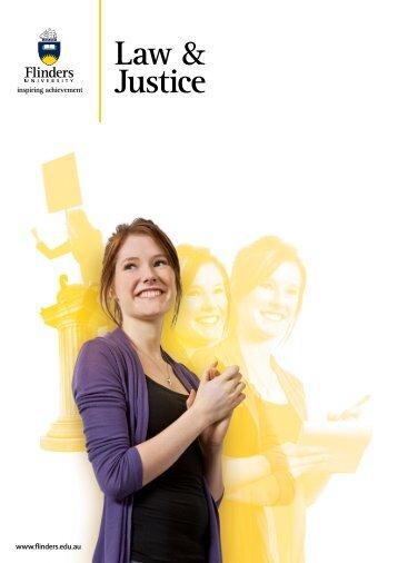 Law Justice - Flinders University