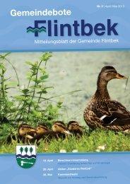Ausgabe 2/13 Teil 1 - Gemeinde Flintbek
