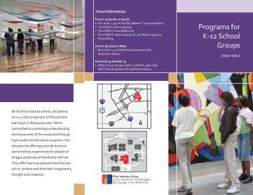 Programs for K-12 School Groups - the Flint Institute of Arts