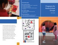 Programs for Home School Groups - the Flint Institute of Arts
