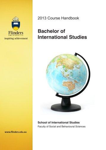 Bachelor of International Studies - Flinders University