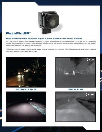 PathFindIR Datasheet - Flir Systems