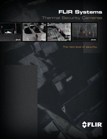 Security Brochure.indd - Flir Systems