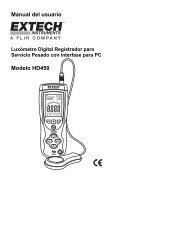 Manual del usuario Megaohmímetro para Alto Voltaje Modelo
