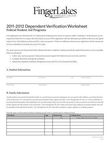 Worksheets Dependent Verification Worksheet collection of dependant verification worksheet sharebrowse dependent student form v5 delaware technical