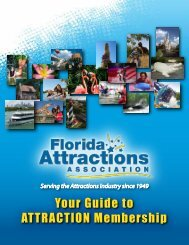 Attraction Membership Booklet (PDF) - Florida Attractions Association