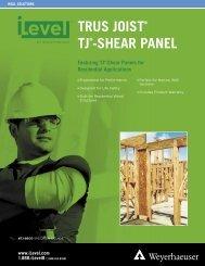 tj®-shear panel - Florida Building Code Information System