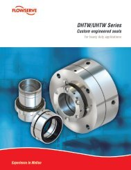 DHTW Seal Brochure - Flowserve Corporation