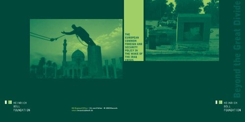 Brochure: The European Common Foreign and Security Policy in ...