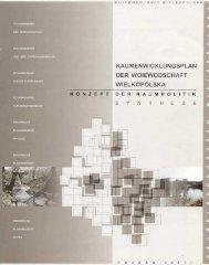 Raumentwicklungsplan der Woiewodschaft ... - Europa im Fluss
