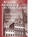 AAI10 - Akademisches Auslandsamt - Universität Augsburg