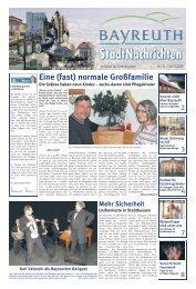 Amtsblatt Nr. 24/09 vom 23. Dezember 2009 - Stadt Bayreuth