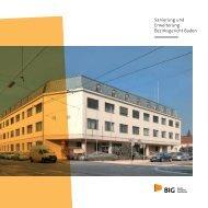 Folder Bezirksgericht Baden - BIG