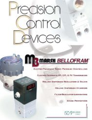 Precision Control Devices Catalog