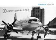 Jahresbericht 2005 - Flughafen Linz