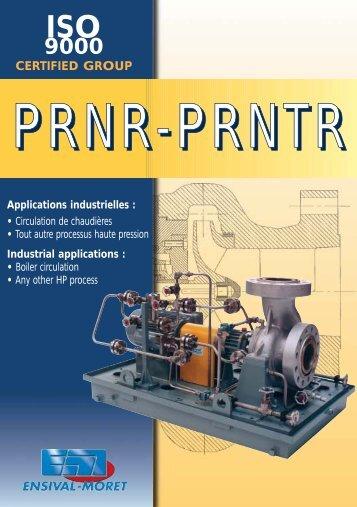 PRNR pour pdf - Ensival-Moret Industrial Pumps