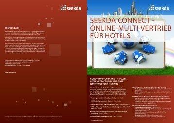 seekda connect - online-Multi-Vertrieb für Hotels