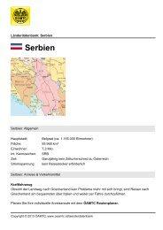 Serbien - Öamtc