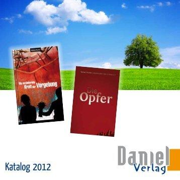 Katalog 2012 - Daniel Verlag