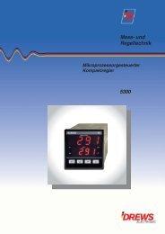Temperaturregler 5300 - Drews Electronic GmbH
