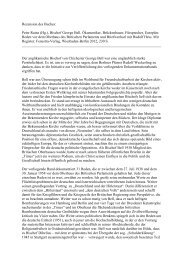 Rezension von Karl Heinz Voigt - Fenestra-Verlag
