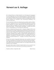 Vorwort zur 6. Auflage - Verlag Harri Deutsch