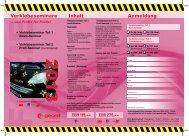 Unser Seminar-Flyer für noch mehr Infos und zum ... - Geonit.com