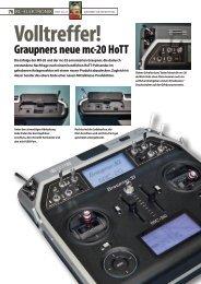 mc-20 HoTT von Graupner/SJ - VTH