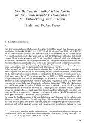 Entwicklung und Frieden - Katholisch.de