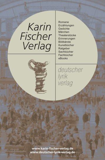 Die Bücher« downloaden - Karin Fischer Verlag GmbH