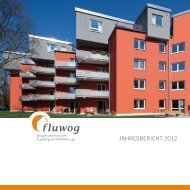 Jahresbericht 2012 (.pdf) - der Baugenossenschaft - FLUWOG ...