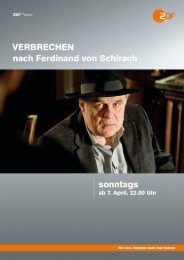 Verbrechen« nach Ferdinand von Schirach - Piper Verlag