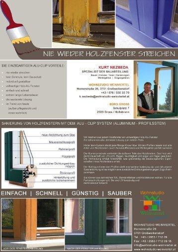 download Info (pdf) - Wohnstudio Weinviertel