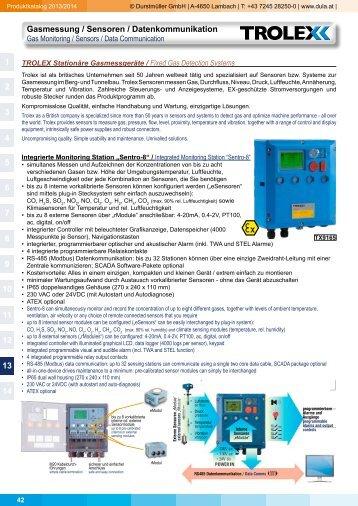 Gasmessung / Sensoren