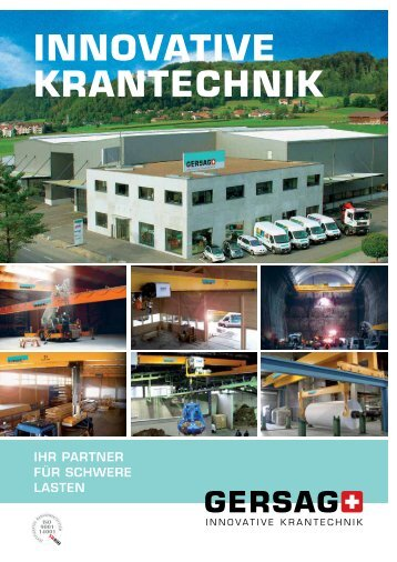 Mietprospekt - Gersag Krantechnik GmbH