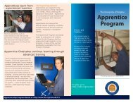 Apprentice Program - Facilities Management - University of Virginia
