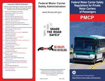 Chapter 770 for Federal motor carrier safety regulations