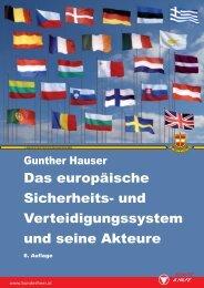 Das europäische Sicherheits- und Verteidigungssystem und seine ...