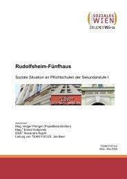 2009: Rudolfsheim-Fünfhaus - Fonds Soziales Wien