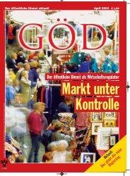 Ausgabe 4/2003 - Gewerkschaft Öffentlicher Dienst