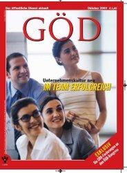 Ausgabe 10/2003 - Gewerkschaft Öffentlicher Dienst