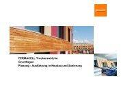 Fermacell Estrich-Elemente mit Fußbodenheizung