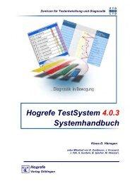 Systemhandbuch - Hogrefe Austria
