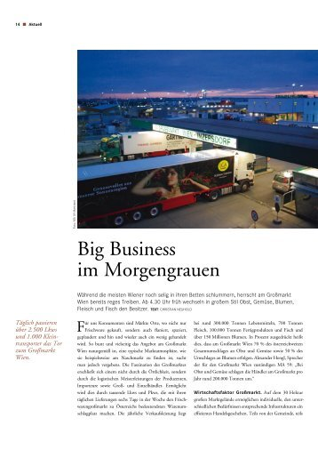 Big Business im Morgengrauen - KSV