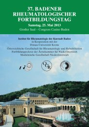 Programm (pdf) - bei MAW - Medizinische Ausstellungs