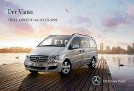 Broschüre Viano TREND & AMBIENTE - Mercedes Benz