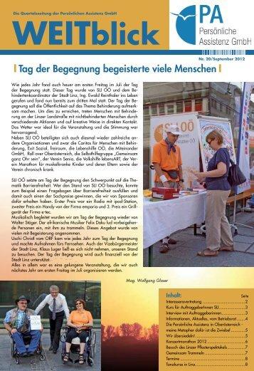 09/2012 - Persönliche Assistenz GmbH