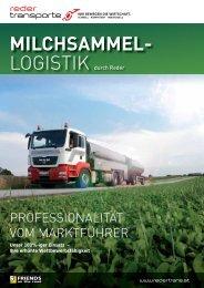 MILCHSAMMEL- - Reder Transporte