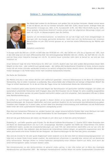 Marktkommentar _ April 2012 - SCA