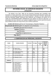 Informe Anual 2009 Traumatologia y Ortopedia Pediatrica